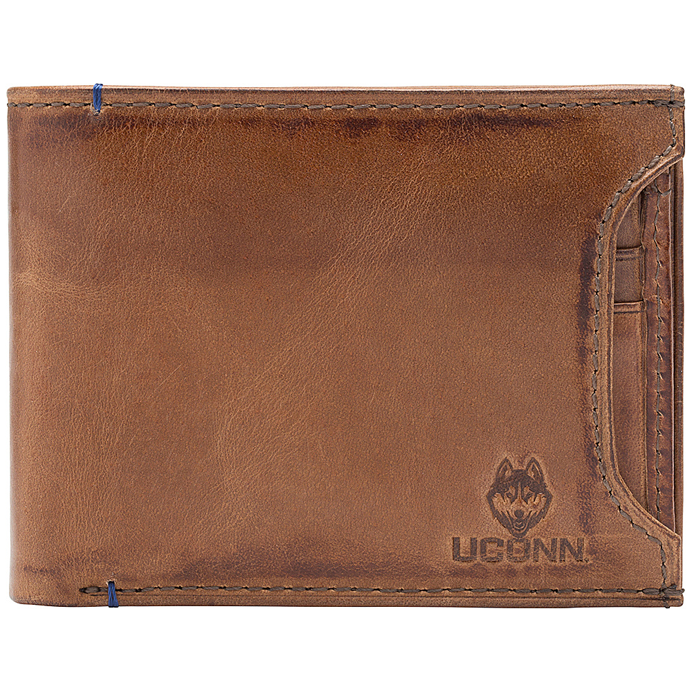 Jack Mason League NCAA Campus Bifold 2 in 1 UConn Huskies - Jack Mason League Mens Wallets - Work Bags & Briefcases, Men's Wallets