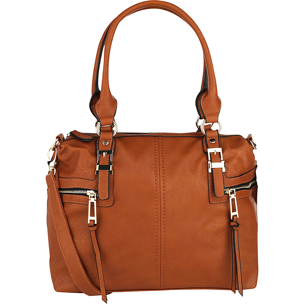MKF Collection Chindel Tote Brown - MKF Collection Manmade Handbags - Handbags, Manmade Handbags