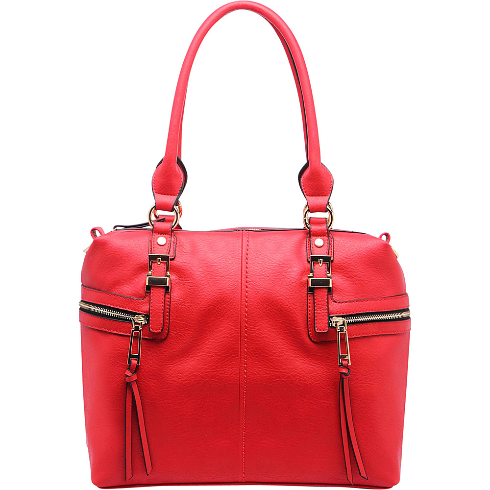 MKF Collection by Mia K. Farrow Chindel Tote Red - MKF Collection by Mia K. Farrow Manmade Handbags - Handbags, Manmade Handbags