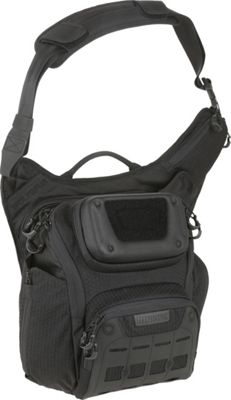 Maxpedition Wolfspur Crossbody Shoulder Bag Black - Maxpedition Tactical