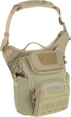 Maxpedition Wolfspur Crossbody Shoulder Bag Tan - Maxpedition Tactical