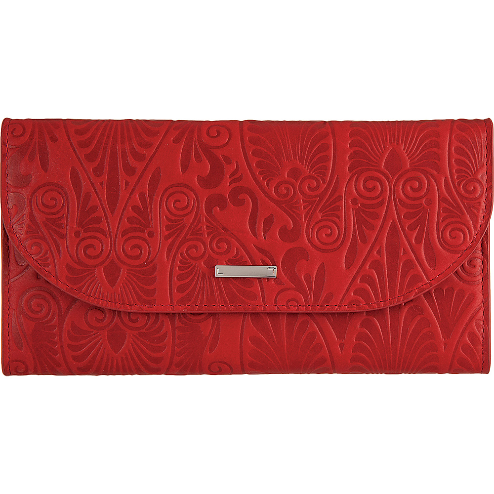 Lodis Denia Cami Clutch Wallet Red - Lodis Womens Wallets - Women's SLG, Women's Wallets