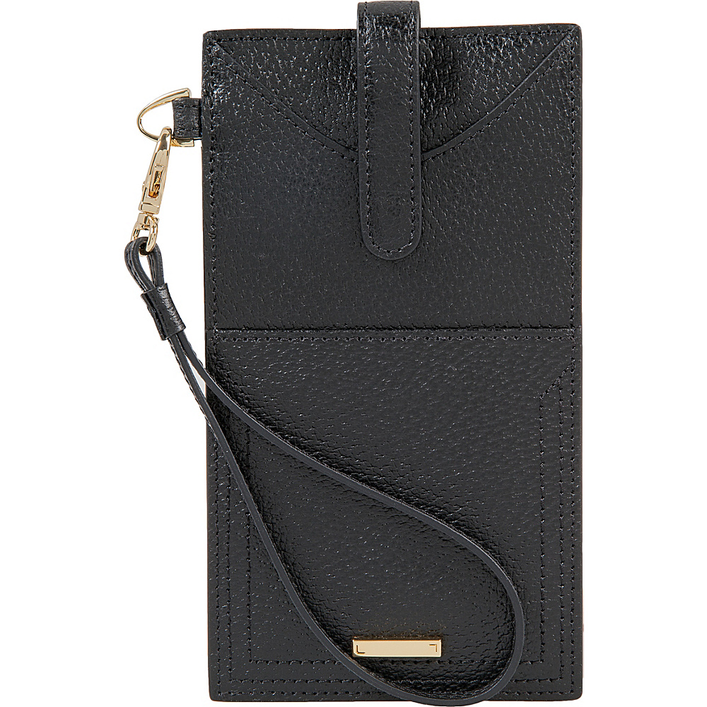 Lodis Stephanie Under Lock & Key Ingrid Phone Wallet Black - Lodis Womens Wallets - Women's SLG, Women's Wallets