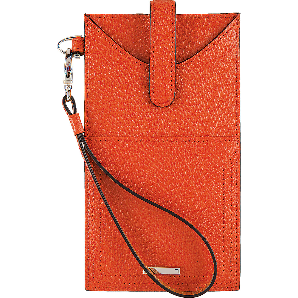 Lodis Stephanie Under Lock & Key Ingrid Phone Wallet Orange - Lodis Womens Wallets - Women's SLG, Women's Wallets