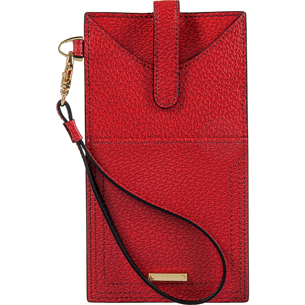 Lodis Stephanie Under Lock & Key Ingrid Phone Wallet Red - Lodis Womens Wallets - Women's SLG, Women's Wallets