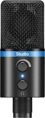 IK Multimedia iRig Mic Studio Large-Diaphragm Digital Microphone Black - IK Multimedia Electronic Accessories
