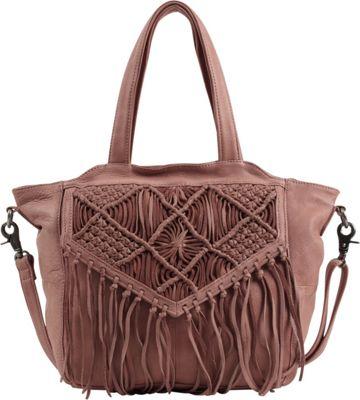 Day & Mood Violet Satchel Cork - Day & Mood Leather Handbags