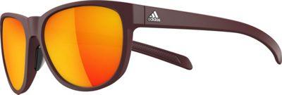 adidas sunglasses Wildcharge Sunglasses Matte Maroon - adidas sunglasses Eyewear