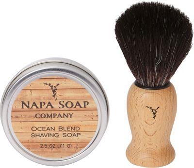 Napa Soap Company Travel Shaving Soap Set Ocean Blend - Napa Soap Company Travel Comfort and Health