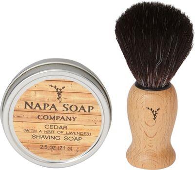 Napa Soap Company Travel Shaving Soap Set Cedar - Napa Soap Company Travel Comfort and Health