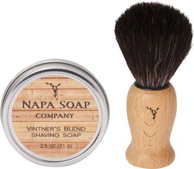 Napa Soap Company Travel Shaving Soap Set Vintner's Blend - Napa Soap Company Travel Comfort and Health