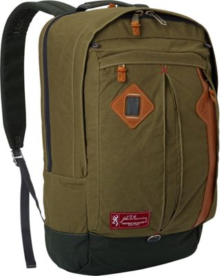 Browning Taos Commuter Day Pack Green - Browning Business & Laptop Backpacks