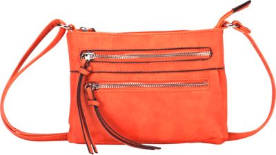 MoDa Eos Goddess Mini Mobile Crossbody Orange - MoDa Manmade Handbags