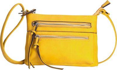 MoDA Eos Goddess Mini Mobile Crossbody Yellow - MoDA Manmade Handbags