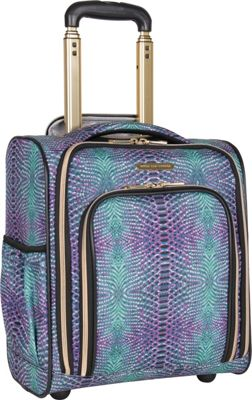 Aimee Kestenberg Sydney 2-Wheel Carry-On Underseater Marine Python - Aimee Kestenberg Softside Carry-On