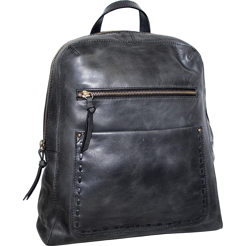 Nino Bossi Emma Backpack Handbag Black - Nino Bossi Leather Handbags - Handbags, Leather Handbags