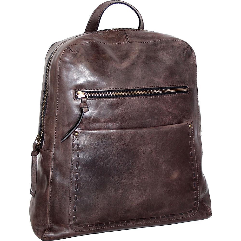Nino Bossi Emma Backpack Handbag Chocolate - Nino Bossi Leather Handbags - Handbags, Leather Handbags