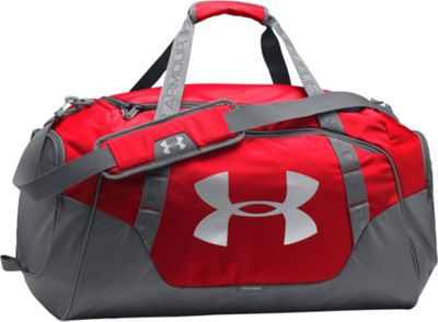 Under Armour Undeniable Medium Duffle 3.0 Red/Graphite/Silver - Under Armour Gym Duffels