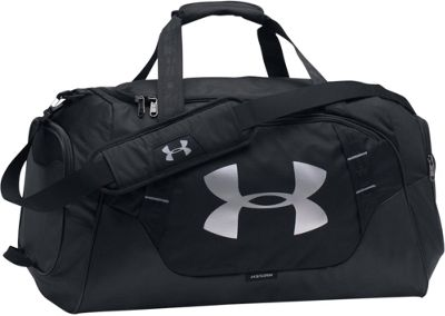 Under Armour Undeniable Medium Duffle 3.0 Black/Black/Silver - Under Armour Gym Duffels