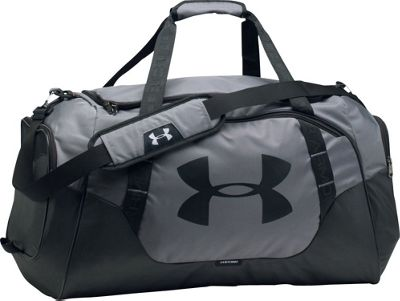 Under Armour Undeniable Medium Duffle 3.0 Graphite/Black/Black - Under Armour Gym Duffels