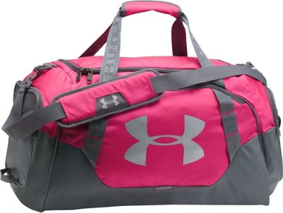 Under Armour Undeniable Medium Duffle 3.0 Tropic Pink/Graphite/Silver - Under Armour Gym Duffels