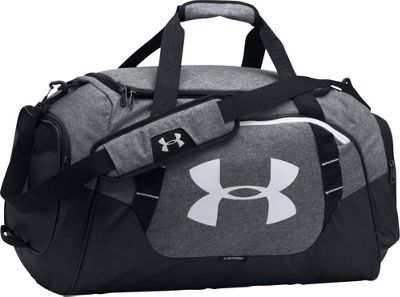 Under Armour Undeniable Medium Duffle 3.0 Graphite/ Black / White - Under Armour Gym Duffels