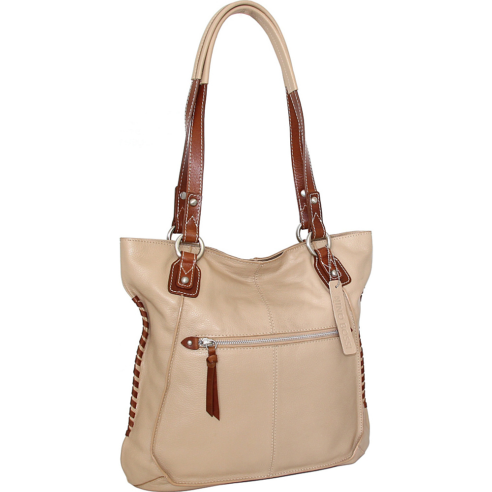 Nino Bossi Tori Tote Sand - Nino Bossi Leather Handbags - Handbags, Leather Handbags