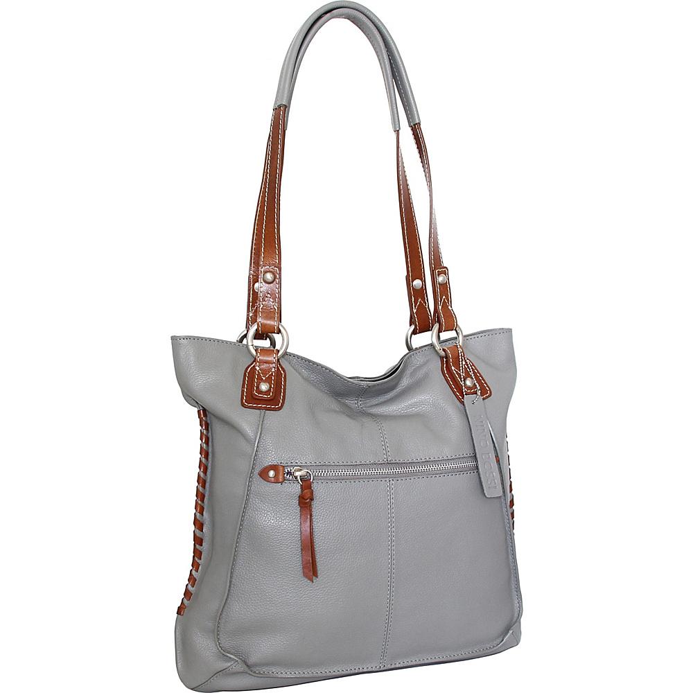 Nino Bossi Tori Tote Stone - Nino Bossi Leather Handbags - Handbags, Leather Handbags