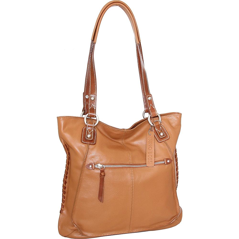 Nino Bossi Tori Tote Cognac - Nino Bossi Leather Handbags - Handbags, Leather Handbags