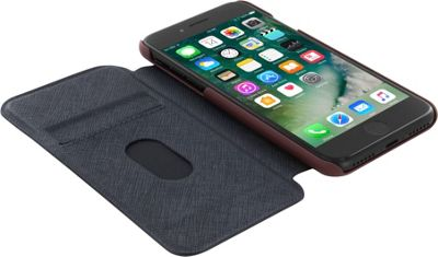 Ted Baker iPhone 6 & 7 Card Slot Folio Case Boatsee Tan - Ted Baker Electronic Cases