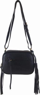 Joelle Hawkens by treesje Candyce Crossbody Camera Bag Black - Joelle Hawkens by treesje Leather Handbags