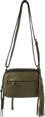 Joelle Hawkens by treesje Candyce Crossbody Camera Bag Olive - Joelle Hawkens by treesje Leather Handbags