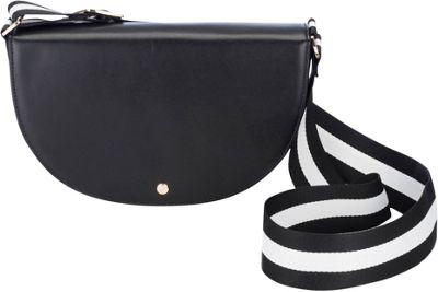 Chic Buds Jenny Charging Crossbody Black - Chic Buds Leather Handbags