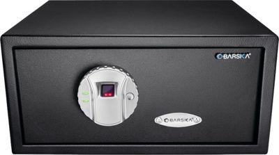 Barska Biometric Safe with Fingerprint Lock Black - Barska Business Accessories