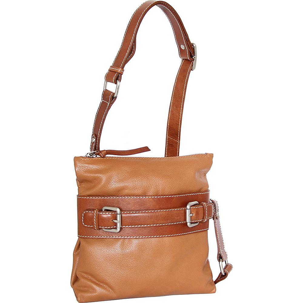 Nino Bossi Delanie Crossbody Bag Cognac - Nino Bossi Leather Handbags - Handbags, Leather Handbags