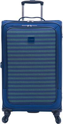 Isaac Mizrahi Ingram 26 inch Checked Spinner Luggage Green - Isaac Mizrahi Softside Checked