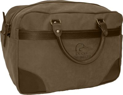 Ducks Unlimited Sportsman's 18 inch Duffel Taupe - Ducks Unlimited Travel Duffels