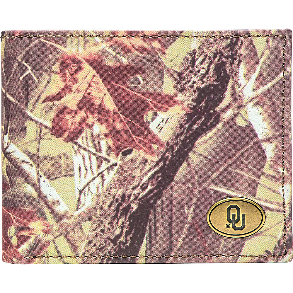Jack Mason League NCAA Legacy Camo Traveler Bifold Wallet Oklahoma - Jack Mason League Mens Wallets - Work Bags & Briefcases, Men's Wallets