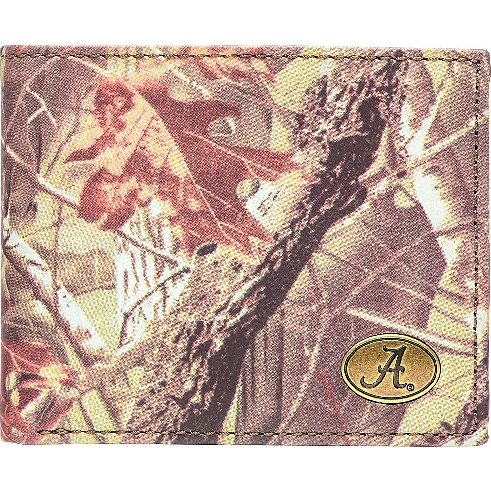 Jack Mason League NCAA Legacy Camo Traveler Bifold Wallet Alabama - Jack Mason League Mens Wallets - Work Bags & Briefcases, Men's Wallets