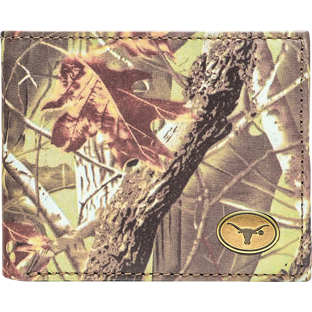 Jack Mason League NCAA Legacy Camo Traveler Bifold Wallet Texas - Jack Mason League Mens Wallets - Work Bags & Briefcases, Men's Wallets