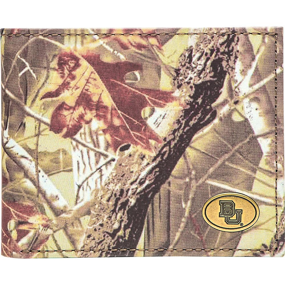 Jack Mason League NCAA Legacy Camo Traveler Bifold Wallet Baylor - Jack Mason League Mens Wallets - Work Bags & Briefcases, Men's Wallets