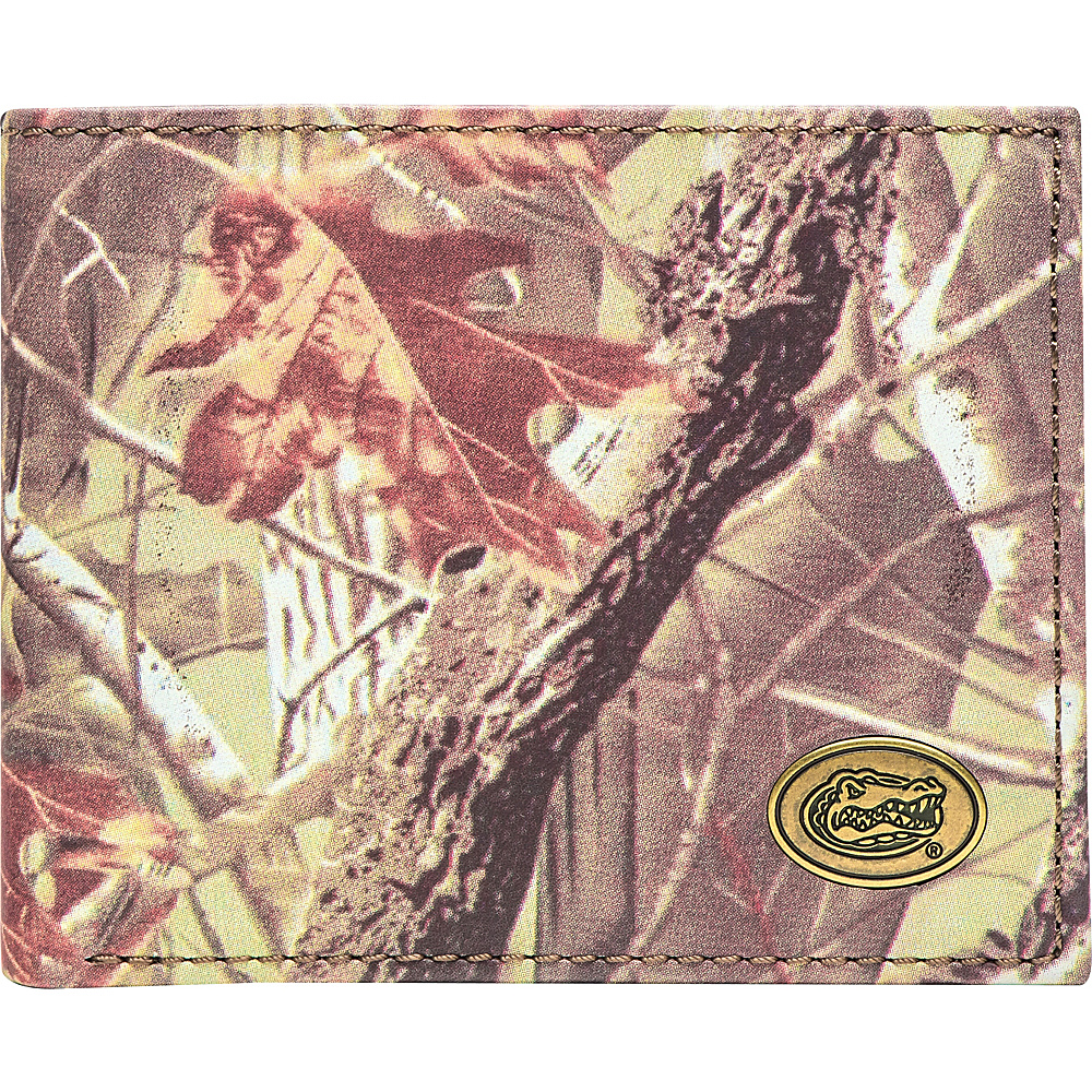 Jack Mason League NCAA Legacy Camo Traveler Bifold Wallet Florida - Jack Mason League Mens Wallets - Work Bags & Briefcases, Men's Wallets