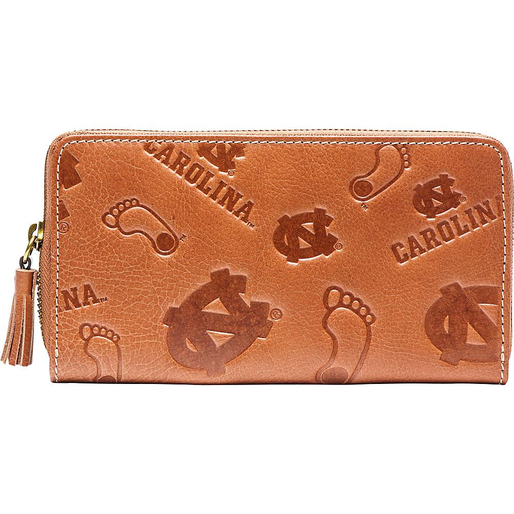 Jack Mason League NCAA Sideline Clutch North Carolina Tar Heels - Jack Mason League Leather Handbags - Handbags, Leather Handbags