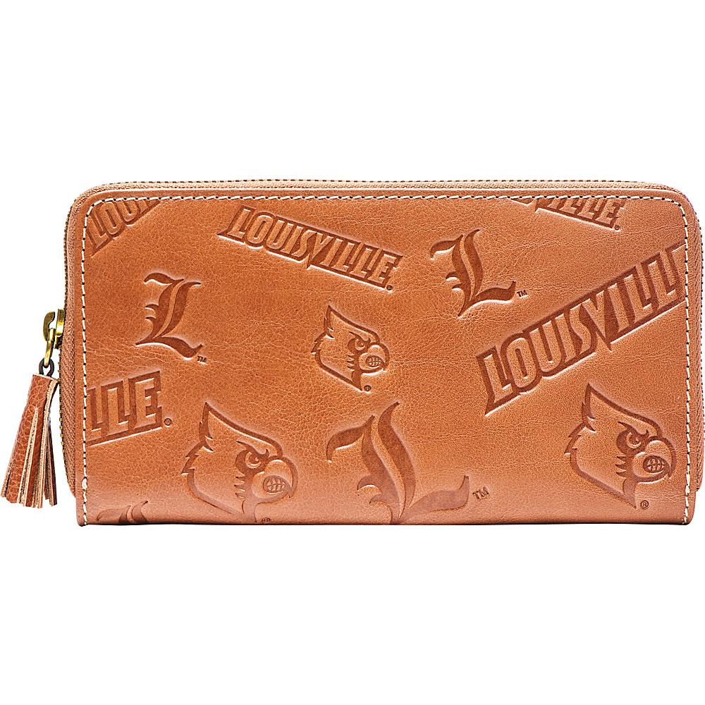 Jack Mason League NCAA Sideline Clutch Louisville Cardinals - Jack Mason League Leather Handbags - Handbags, Leather Handbags