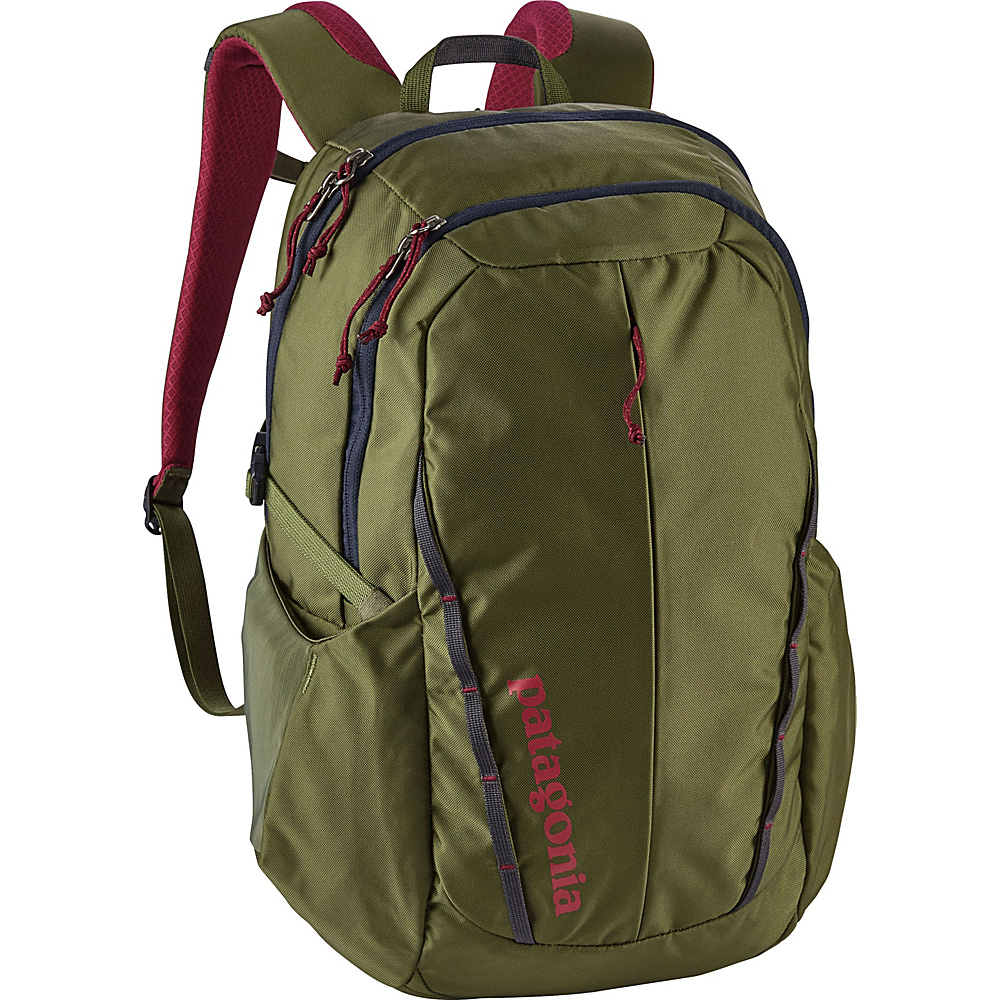 Patagonia Womens Refugio Pack 26L Buffalo Green - Patagonia Laptop Backpacks - Backpacks, Laptop Backpacks