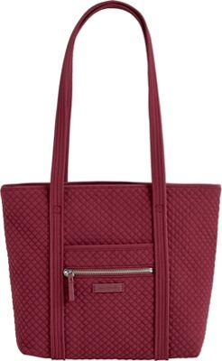 Vera Bradley Iconic Small Vera Tote - Solids Hawthorn Rose - Vera Bradley Fabric Handbags
