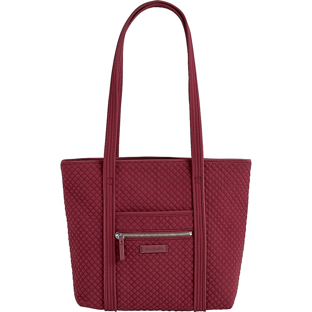 Vera Bradley Iconic Small Vera Tote - Solids Hawthorn Rose - Vera Bradley Fabric Handbags - Handbags, Fabric Handbags