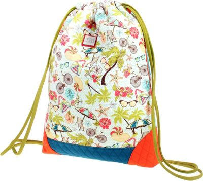 Inky & Bozko Beachy Keen Sling Sack Beachy Keen - Inky & Bozko School & Day Hiking Backpacks