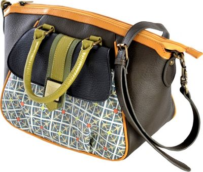 Inky & Bozko Day Tripper Oversized City Bag Day Tripper - Inky & Bozko Fabric Handbags