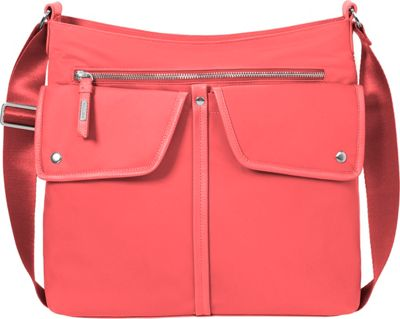 baggallini Hillcrest Hobo - Retired Colors Coral - baggallini Fabric Handbags